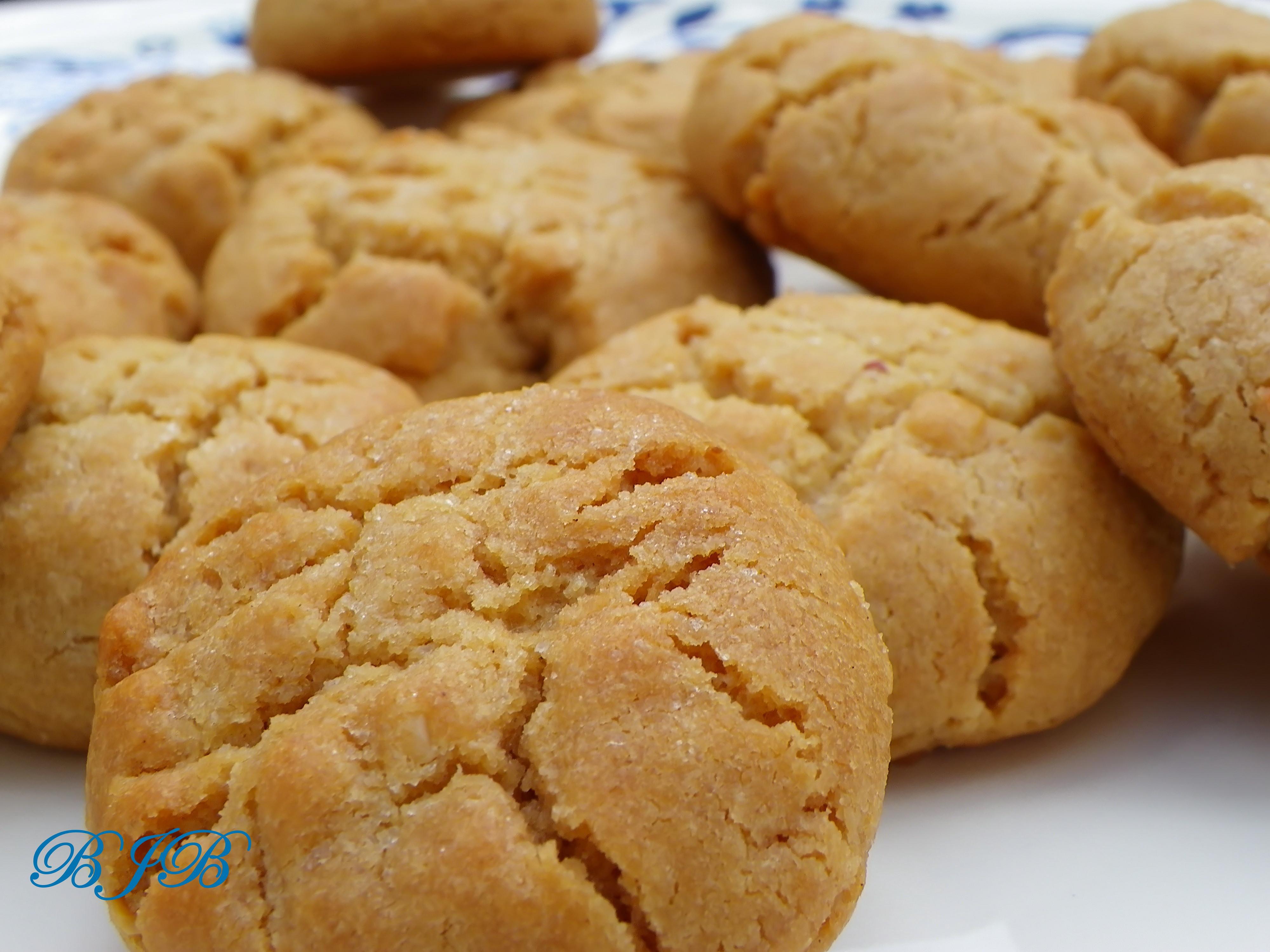 galletas y galletas de mantequilla de maní