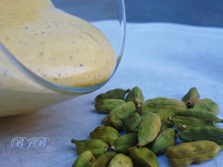 Grand Marnier and cardamom zabaione
