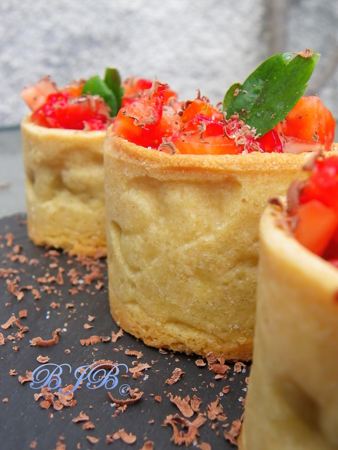 Tartelette aux fraises