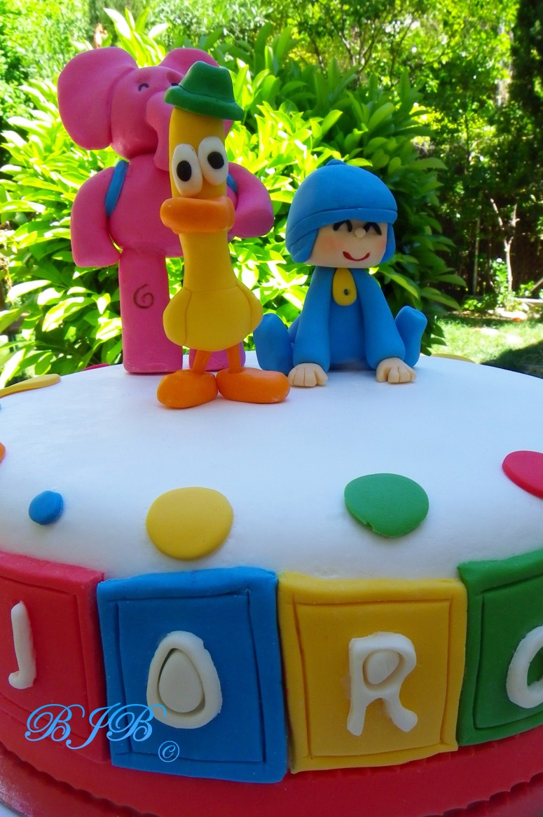 Pocoyo's cake for Jorge