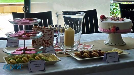 Pequeña mesa dulce para Piedad