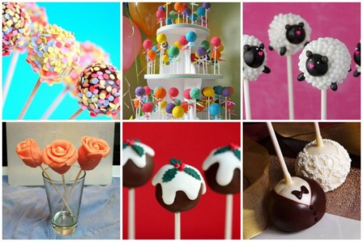 Collage de cake pop kitchen community
