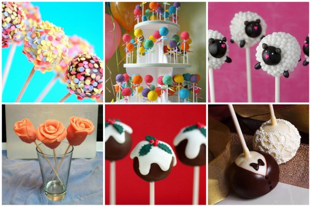 Collage de cake pop kitchen community