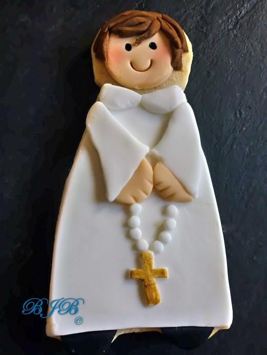 First Holly Communion boy