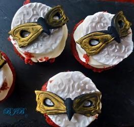 Venetian cupcakes
