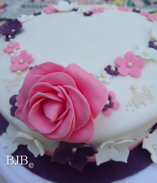Una tarta muy romántica