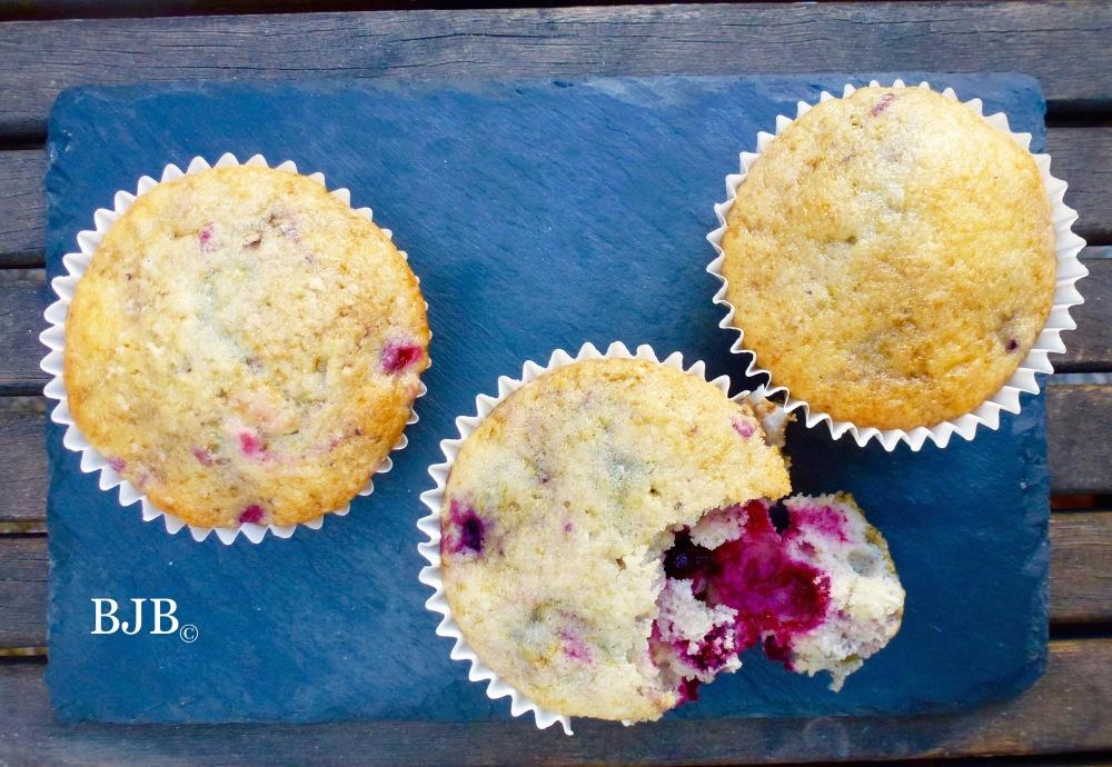 Muffins de frutos del bosque (1/2)